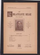LE PHILATELISTE BELGE  N° 149  Mars 1934  82 Pages - Manuali