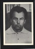 USSR ESTONIA Post Card Dissident Soviet Prisoner Mart NIKLUS Personalities - Estonia