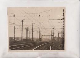 AUSTRALIA  SYDNEY SUBURBAN LINES ELECTRIFICATION PROJECT OF RAILWAYS  22*16CM Fonds Victor FORBIN 1864-1947 - Trenes