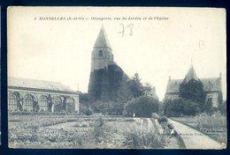 Cpa Du 92 Bonnelles Orangerie , Vue Du Jardin Et De L' église  DEC19-46 - Autres Communes
