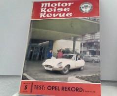 Motor Reiese Revue - Heft 5, Mai 1963 - Toeristengidsen