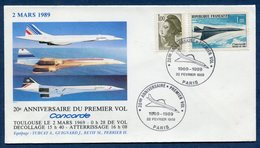 Premier Vol - Concorde - Toulouse - Air France - 1969 à 1989 - Concorde
