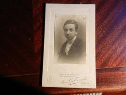 MAG1.1) LA SPEZIA VIA PRIONE STUDIO FOTOGRAFICO FOTOGRAFO TORELLI FINE 800 INIZIO 1900 - Photos