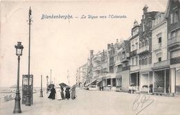 Blankenberghe - La Digue Vers L'Estacade 1906 - Blankenberge