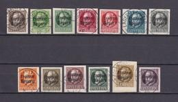 Bayern - 1920 - Michel Nr. 152/164 B - Gest. - 250 Euro - Bavaria