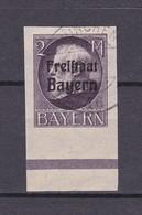 Bayern - 1920 - Michel Nr. 166 B - UR - Gest. - 45 Euro - Bavaria