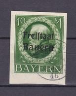 Bayern - 1920 - Michel Nr. 169 B - Gest. - 90 Euro - Bavaria