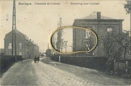 Beringen : Steenweg Naar Coursel  ( Geschreven 1911 Met Zegel ) - Beringen