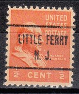 USA Precancel Vorausentwertung Preo, Locals New Jersey, Little Falls 723 - Vereinigte Staaten