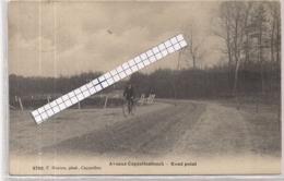 """CAPPELLENBOSCH-KAPELLEN""""AVENUE CAPPELLENBOSCH-ROND POINT-FIETSER OP ZANDWEG""""HOELEN 3700 UITGIFTE 1908 - Kapellen"""