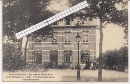 """CAPPELLENBOSCH-KAPELLEN""""CAFE RESTAURANT HOTEL TERHEIDEN-DE NIEUWE WITTE HOEF""""HOELEN 8063 UITGIFTE 1914 - Kapellen"""