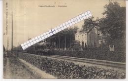 """CAPPELLENBOSCH-KAPELLEN""""STATIELEI MET STOOMTREIN""""HOELEN 8013 UITGIFTE 1914  TYPE 5 - Kapellen"""