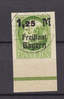 Bayern - 1920 - Michel Nr. 174 B - UR  - Gest. - 72 Euro - Bavaria