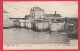 Heist / Heyst - Les Ecluses - 1908 ( Verso Zien ) - Heist