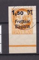 Bayern - 1920 - Michel Nr. 175 B - UR  - Gest. - 72 Euro - Bavaria