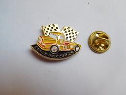 Beau Pin's , Transport Camion , Grand Prix Camion , Jaune - Transportes
