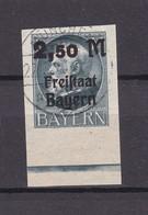 Bayern - 1920 - Michel Nr. 176 B - UR  - Gest. - 72 Euro - Bavaria
