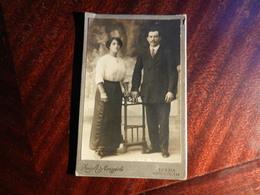 MAG1.1) LA SPEZIA CORSO CAVOUR STUDIO FOTOGRAFICO MERIGGIOLI FINE 800 INIZIO 1900 - Photos