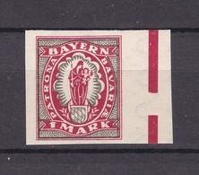 Bayern - 1920 - Michel Nr. 187 U - SR - Ungebr. - Bavaria