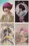 LOT/121.....50 CPA FEMMES - 5 - 99 Postkaarten