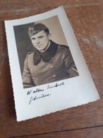 MANN IN DEUTSCHLAND DAZUMAL - GEFREITER WALTER SCHUBERT - DEUTSCHE WEHRMACHT - BURG BEI MAGDEBURG - Krieg, Militär