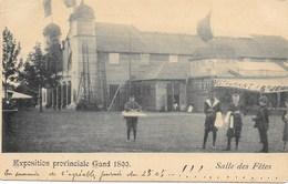 Exposition Provinciale Gand 1899 NA2: Salle Des Fêtes 1899 - Expositions