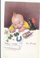 CPA - Illustrateur -Mauzan - For Daddy   :  Achat Immédiat - ( Cd029 ) - Mauzan, L.A.
