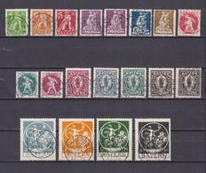 Bayern - 1920 - Michel Nr. 178/195 - Gest. - 250 Euro - Bavaria