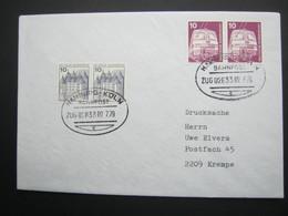 1979 , Bahnpost:  HAMBURG - KÖLN   , Klarer   Stempel Auf Brief - BRD