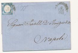 1862 PROVINCE NAPOLETANE LANCIANO CERCHIO SU 2 GRANA - Neapel