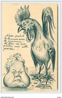 N°4453 - Molynk - Carte Satirique - Coq - Fallières - Satirische