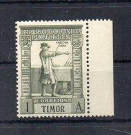 Portogallo - Timor - 1938 - Vasco De Gama - Nuovo ** - Con Bordo Di Foglio - (FDC20110) - Timor