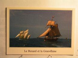 Saint Malo - Le Renard ( Cotre Corsaire Armé Par Robert Surcouf ) Et La Granvillaise - Saint Malo