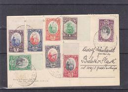 Saint Marin - Carte Postale Recom De 1936 - Oblit Republica Di San Marino - Exp Vers Bielolav Slask  ? - - Saint-Marin