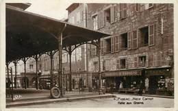 FIGEAC - Place Carnot, Halle Aux Grain. - Figeac