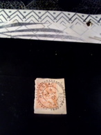 Cachet Facteur Boitier Sur Fragment 1901  BLESSAC Creuse - Poststempel (Einzelmarken)