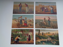 Beau Lot De 20 Cartes Postales De Fantaisie  Agriculture    Mooi Lot Van 20 Postkaarten Fantasie Landbouw - 20 Scans - Postkaarten
