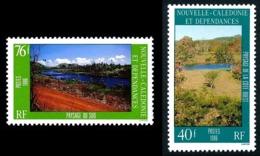 NOUV.-CALEDONIE 1986 - Yv. 525 Et 526 **   Faciale= 0,97 EUR - Paysages Côte Ouest Et Sud (2 Val.)  ..Réf.NCE25238 - Nueva Caledonia