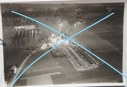 Photo Aérienne MECHELEN BOVELINGEN Regio Sint Truiden Waremme 1929 Sucrerie Sugar Factory Suikerfabriek Suiker - Luoghi