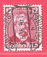 MiNr.605 O Deutsches Reich - Gebraucht