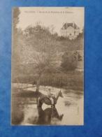 Vellexon Bords De La Romaine Et Le Château Cavalier Dans L'eau  Haute Saône Franche Comté - Altri Comuni