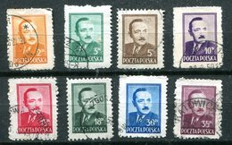 POLOGNE - Y&T 529 à 537 (sauf 532) - 1944-.... République