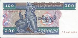 BIRMANIE  -  MYANMAR    100  Kyat  Nd(1994)  -- UNC --.  Burma - Myanmar