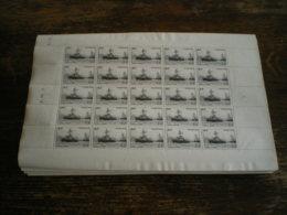 /!\ 1490 - 100 Feuilles TP 752 Non Oblitérés (Oeuvres De La Marine) 1946 - Feuilles Complètes