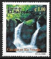 EL SALVADOR - MNH 2000 - Biodiversidad Del Parque Nacional El Imposible : Cascada En Rio Venado - Andere