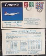 Premier Vol - Concorde - British Airways - Fillon - Heathrow Airport - 1980 - Concorde