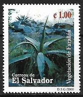 EL SALVADOR - MNH 2000 - Biodiversidad Del Parque Nacional El Imposible : Vegetacion De Farallon : Agave - Sukkulenten