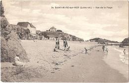 Dépt 44 - SAINT-NAZAIRE - Saint-Marc-sur-Mer - Vue De La Plage - (F. Chapeau, éditeur, N° 74) - Saint Nazaire