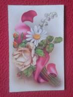 SPAIN ? ANTIGUA POSTAL POST CARD CARTE POSTALE C. Y Z. CREO AÑOS 1950 1960 APROX. ?? FLORES FLOWERS VER FOTOS........... - Flores, Plantas & Arboles
