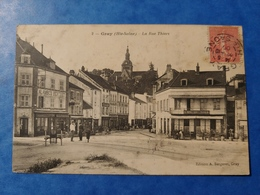 Gray Rue Thiers Alambics Berthet Haute Saône Franche Comté - Gray